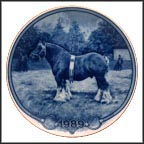 Jutlander Horse Collector Plate by Poul T. Christensen