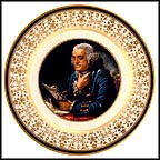 Benjamin Franklin Collector Plate by David Martin MAIN