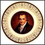 Thomas Paine Collector Plate by John Wesley Jarvis MAIN