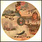 Great Events Collector Plate by Jack Woodson