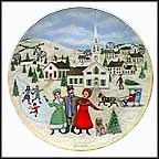 I Heard The Bells On Christmas Day Collector Plate by Joan Landis