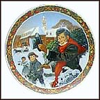 O Christmas Tree Collector Plate by Jack Woodson