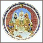 We Three Kings Collector Plate by Jack Woodson