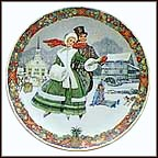 Winter Wonderland Collector Plate by Jack Woodson MAIN