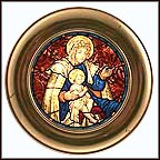 Madonna And Child - Washington Cathedral Collector Plate
