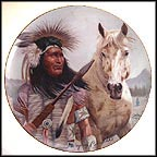 Chief Pontiac - artist signed Collector Plate by Gregory Perillo