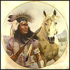Chief Pontiac Collector Plate by Gregory Perillo