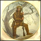 Daniel Boone Collector Plate by Gregory Perillo