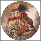 Madonna Of The Plains Collector Plate by Gregory Perillo MAIN