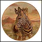 Zebra Collector Plate by Gregory Perillo MAIN