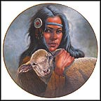 Lily Of The Mohawks Collector Plate by Gregory Perillo MAIN