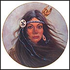 Pocahontas Collector Plate by Gregory Perillo