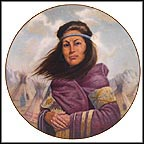 Sacajawea Collector Plate by Gregory Perillo