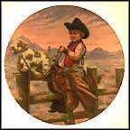 Rodeo Joe Collector Plate by Gregory Perillo