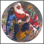 Santa's Joy Collector Plate by Gregory Perillo