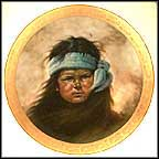 Apache Boy Collector Plate by Gregory Perillo