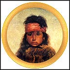 Navajo Girl Collector Plate by Gregory Perillo