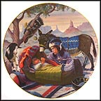 Papoose Collector Plate by Gregory Perillo