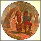 Hansel And Gretel Collector Plate by Gregory Perillo