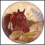 The Commanche Collector Plate by Gregory Perillo MAIN
