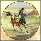 Sioux War Pony Collector Plate by Gregory Perillo