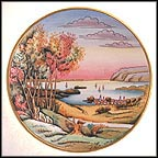 Hudson Valley Collector Plate by Vincente Tiziano