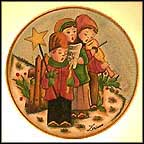 The Carolers Collector Plate by Vincente Tiziano