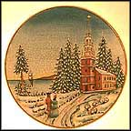 Old North Church Collector Plate by Vincente Tiziano