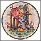Valentine Boy Collector Plate by Vincente Tiziano