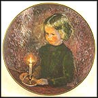 Jennifer By Candlelight Collector Plate by William Bruckner