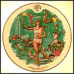 Summer Olympics - Los Angeles Collector Plate by Alton S. Tobey