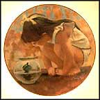 Turtle Talk Collector Plate by Thornton Utz MAIN