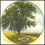 Lazy Days (Summer Oak) Collector Plate by Ralph J. Homan