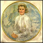 Princess Grace Collector Plate by Thornton Utz