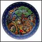 Lukomorya Collector Plate by Roman Belousov
