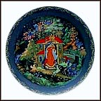 The Princess And The Seven Bogatyrs Collector Plate by Aleksandr I. Kovalev