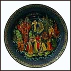 Tsar Saltan Collector Plate by Galina Zhiryakova MAIN