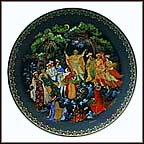 The Twelve Months Collector Plate by Nicolai Lopatin