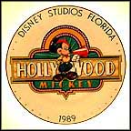 Hollywood Mickey Collector Plate by Disney Studio Artists
