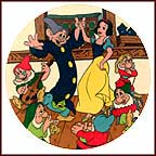 The Dance Collector Plate by Disney Studio Artists MAIN