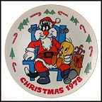 Tweety And Sylvester Collector Plate