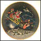 What's Up Santa? Collector Plate