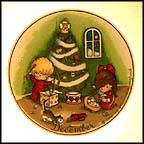 December Collector Plate by Joan Walsh Anglund MAIN