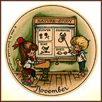 November Collector Plate by Joan Walsh Anglund MAIN