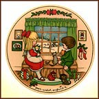 Waiting For Christmas Collector Plate by Joan Walsh Anglund MAIN