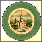 Country Church Collector Plate