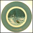 Bringing Home The Tree Collector Plate