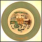 Country Christmas Collector Plate