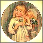 Daydream Collector Plate by Mary Vickers