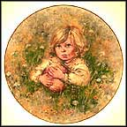 Innocence Collector Plate by Mary Vickers